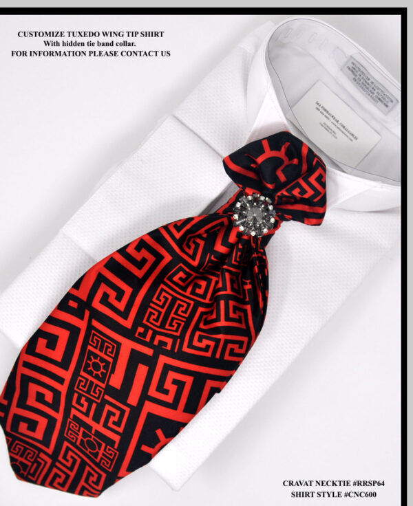 Black Tuxedo Neckties
