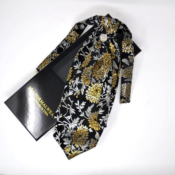 Gold Cravat Tie Men
