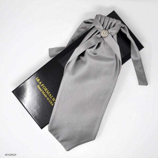 Tuxedo Silver Neckties
