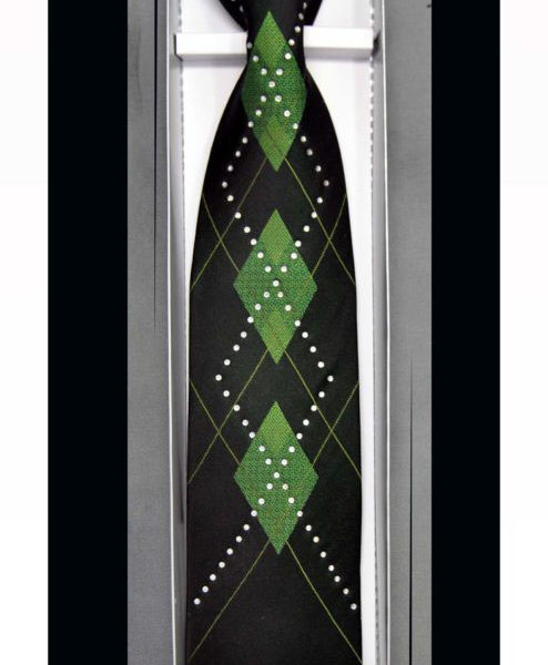 Rhinestone Neckties