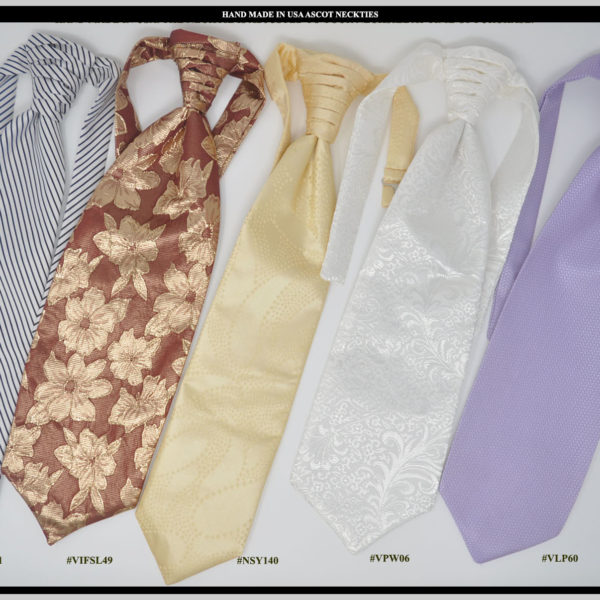 Tuxedo Necktie Colors