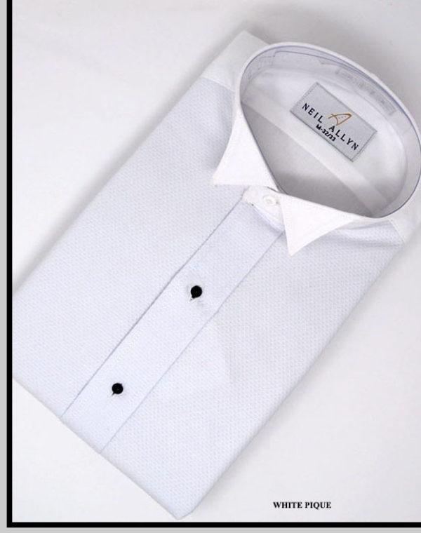 Camisa Blanca Pique Novio