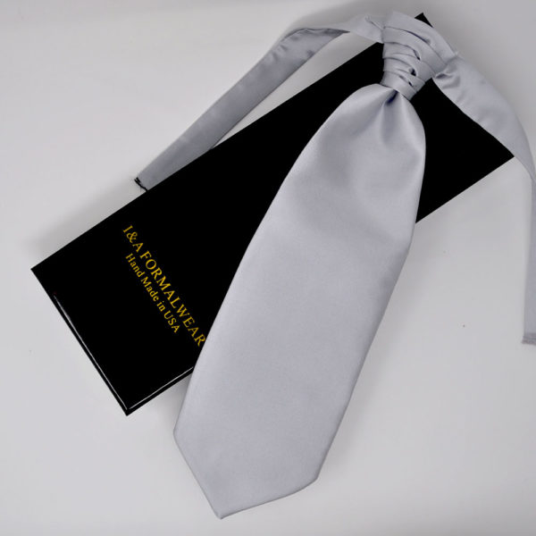 Groom's Men Silver Neckties