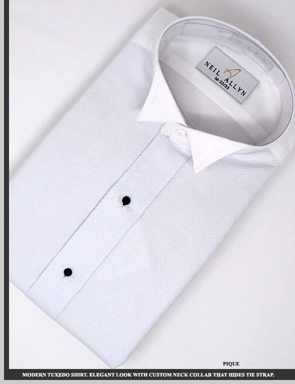 Camisa Traje Formal Pique