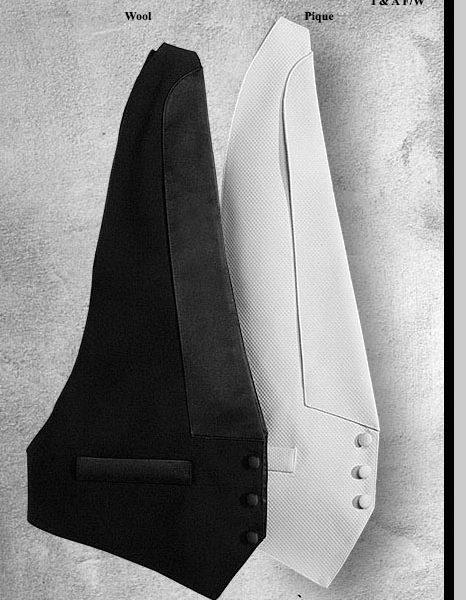 Groom Tuxedo Vest Styles